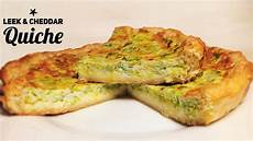 Quiche Teig Rezept - easy leek and cheddar quiche recipe puff pastry or