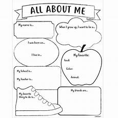 all about me activity sheets 30ct party city