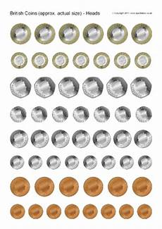 money worksheets sparklebox 2329 printable picture of coins 2625476