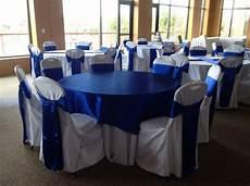 royal blue horizon sashes wedding white wedding