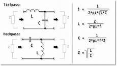 lc filter collins filter elektronik bastler info