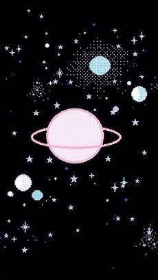 Space Planet Iphone Wallpaper Objek Gambar Latar