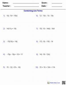 algebra 1 worksheets basics for algebra 1 worksheets