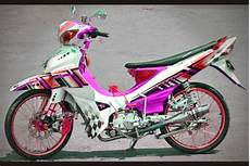 Warna Motor Jupiter Z by Modifikasi Jupiter Z1 Terbaru Racing Drag Velg Jari Jari