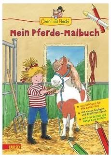 ausmalbild conni und flecki conni und flecki conni und flecki mein pferde malbuch