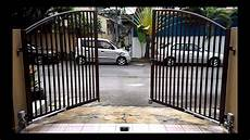 the one auto gate swing autogate arm type youtube