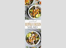 grilled buffalo chicken salad_image