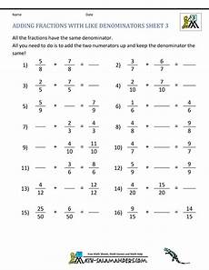 fraction worksheets beginner 3853 free fraction worksheets adding subtracting fractions