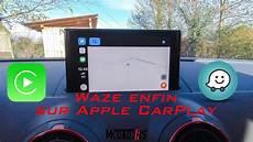 Waze Enfin Sur Apple Carplay