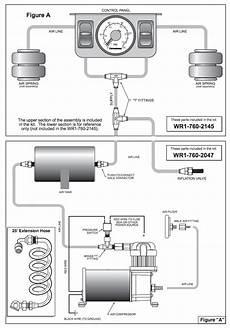 firestone air bag diagram firestone dual air panel install driven to wander