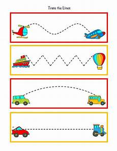 transportation worksheets for pre k 15224 great to practice pre writing skills during transportation week put this in your handwriting