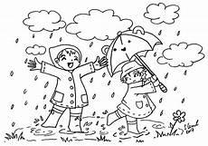 Bilder Zum Ausmalen November Wir Tanzen Im Regen Und Lachen Dabei Ausmalbild