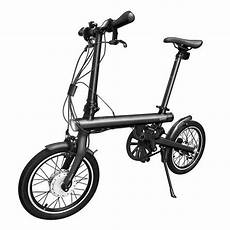 xiaomi electric bike qicycle ef1 folding bike black