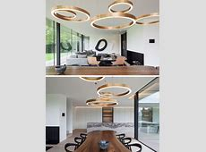 Dining Room Lighting Ideas   Use multiple fixtures over