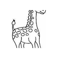 malvorlage giraffe einfach giraffen malvorlagen zum ausmalen f 252 r kinder