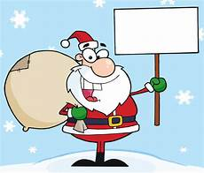 Lustige Malvorlagen Weihnachten Kostenlos Lustige Weihnachten Santa Holding A Blank Sign Im Schnee