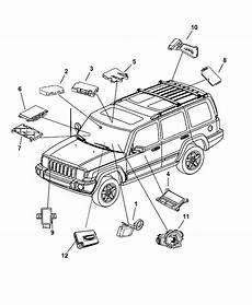 2006 jeep engine diagram 56053016ao genuine jeep module module