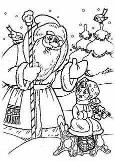 Malvorlagen Zum Ausdrucken Weihnachten Russisch Ausmalbilder Zum Drucken Malvorlage Russische M 228 Rchen