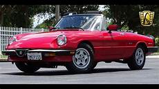 1986 alfa romeo spider veloce gateway orlando 876 youtube