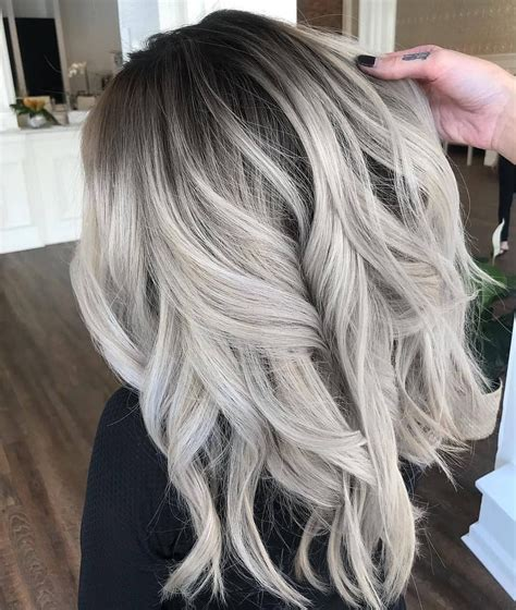 Grey Ombre Blonde