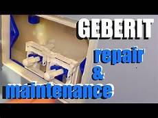 geberit toilet repair and maintenance how to
