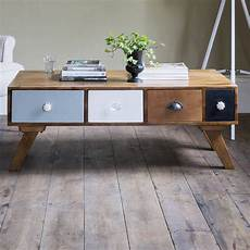 Coffee Table Retro milligan retro multi drawer coffee table by atkin and