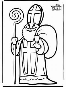 Ausmalbilder Bischof Nikolaus Ausmalbilder Nikolaus 03 Heiliger Nikolaus