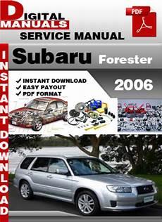 car repair manual download 2006 subaru forester on board diagnostic system subaru forester 2006 factory service repair manual tradebit