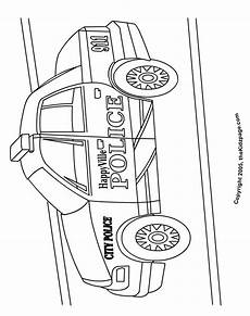 car free coloring pages for printable
