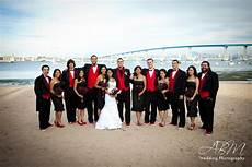 red and black wedding colors at your side planning