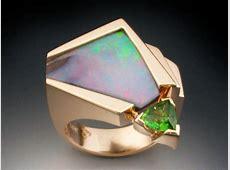 One of a kind Opal & Tourmaline Ring   Metamorphosis