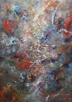 24 Lukisan Abstrak Karya Dario Canil About Something