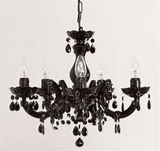Lustre Moderne Noir Lustre Baroque Noir Lustre Salon Design Pas Cher Studioneo