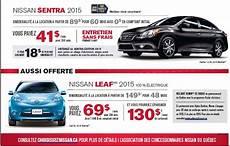 publicité voiture 2017 nouvelle publicit 233 pour la nissan leaf au qu 233 bec av 201 q