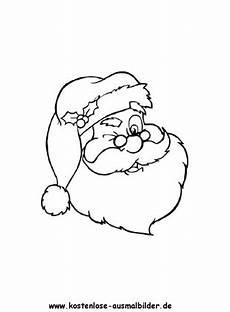 ausmalbilder malvorlagen weihnachtsmann 1