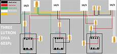 grafik eye wiring diagram replacing 3 switches and 2 quot 3 way quot switches with grafik eye qs dimmer electrical diy