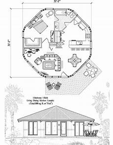 small octagon house plans patio collection pt 0321 800 sq ft 1 bedrooms 1 baths