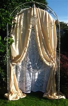journey of angela diy wedding arch