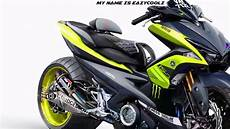 Aerox 155 Modif Touring by Yamaha Aerox 155 Cc Best Modified Version