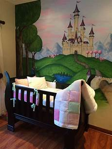 Bedroom Easy Wall Mural Ideas by Painted A Wall Mural For My Beautiful Baby