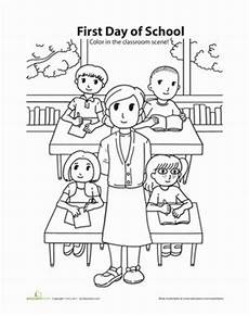 places in the school coloring pages 18035 day of school coloring