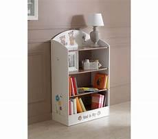 petit meuble bibliothèque biblioth 232 que enfant tedly blanc et beige petits meubles but