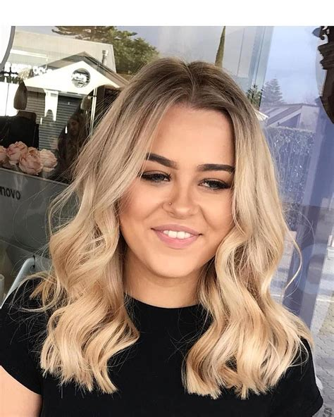 Blond Ombre Straight Hair
