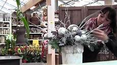 composizioni vasi composizione natalizia
