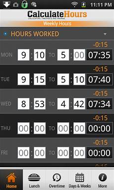 com time card calculator timeclock appstore for android