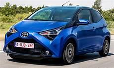 Neuer Toyota Aygo Facelift 2018 Erste Testfahrt