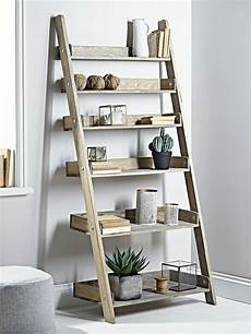treppe als regal rustic wooden ladder shelf wide in 2019 wooden ladder
