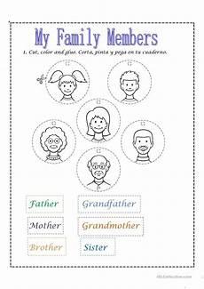 family members worksheet free esl printable worksheets made by teachers eğitim sınıf anaokulu