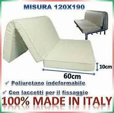 materasso x divano letto materasso per divano letto pronto letto 120x190