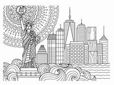 new york skyline drawing color at getdrawings free